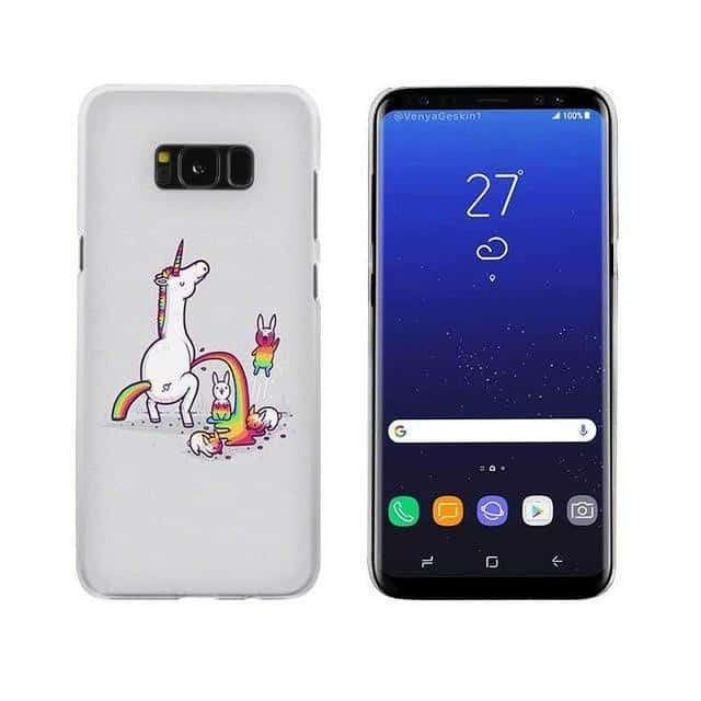 Coque licorne Samsung <br>fun