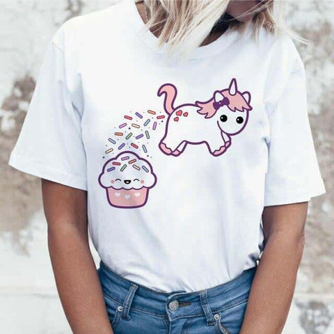 Tee shirt Licorne <br>groot</br> - Licorne
