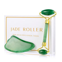 Load image into Gallery viewer, Healing Handmade Jade Roller - Snake Ice