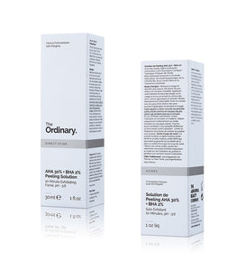 The Ordinary AHA 30% + BHA 2% Peeling Solution - Snake Ice