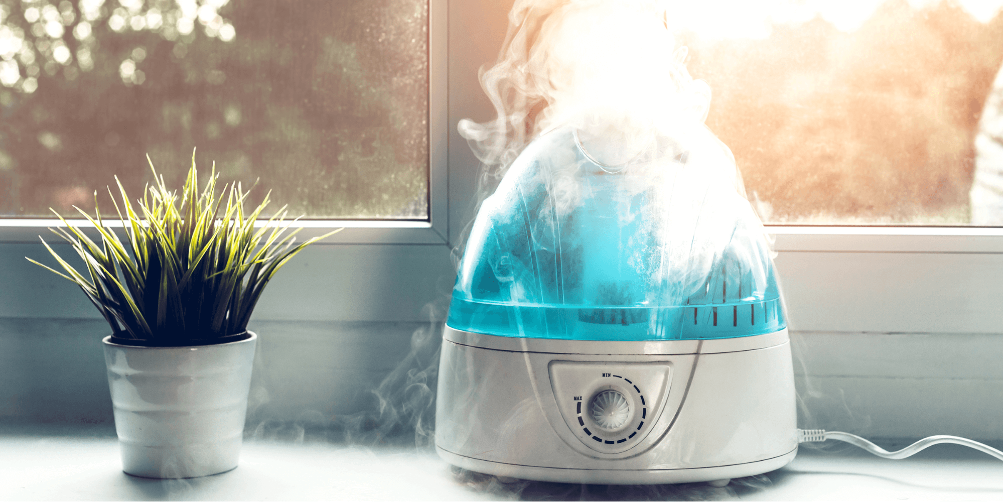 Humidifier for dry skin