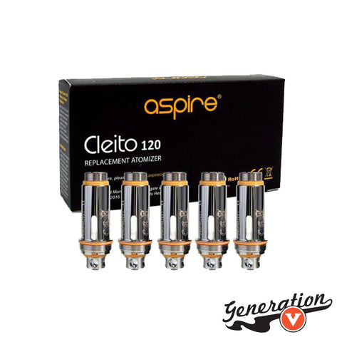 The Aspire Cleito 120 Replacement Coils is part of Aspire's new Maxi Watt apparatus, integrating a full chamber, chimney replacing design through the barrel that provides extremely rapid and effective airflow delivery.