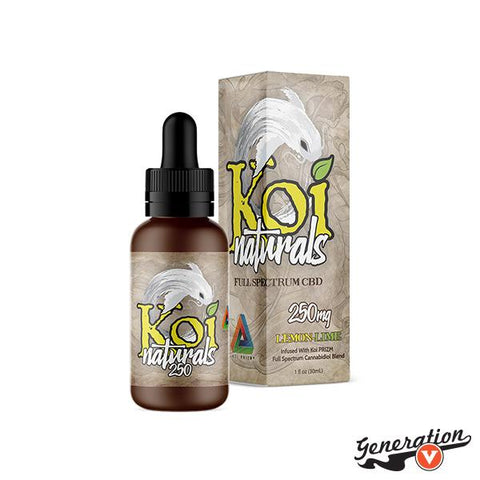 Lemon-Lime Naturals is a tangy burst of natural citrus flavors. Blending 100% natural lemon and lime flavors with Koi PRIZM™ full-spectrum CBD blend, Koi Naturals Lemon-Lime provides the restorative benefits of the highest quality CBD available with sweet and tart citrus flavors.