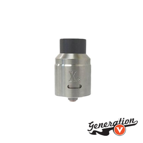 Vaperz Cloud always likes to listen to their customers, and at your request, they created the X2 RDA! With an updated deck and wider airflow from the original, we took the suggestions to improve the original X1 and bring you a beastly bottom airflow RDA!