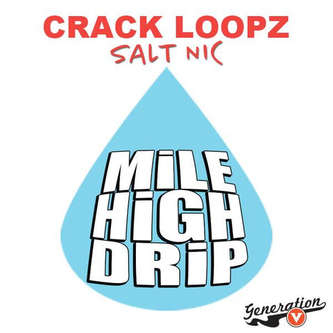 Crack Loopz Salts is a cross between fruity pebbles and fruit loops that's good you'll be hooked and coming back for more!