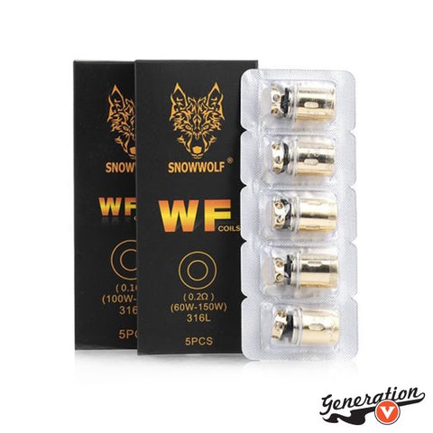 The SnowWolf WF Coils (1-Pack) are a brand new addition compatible for the MFENG Kit series and WOLF Tank, featuring an extensive WOLF WF Coil System with mesh options.