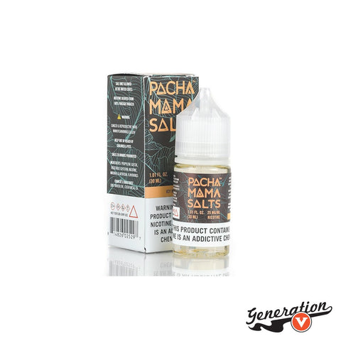 Icy Mango by Pachamama SALTS is a Handpicked juicy mango brushed with fresh mint.