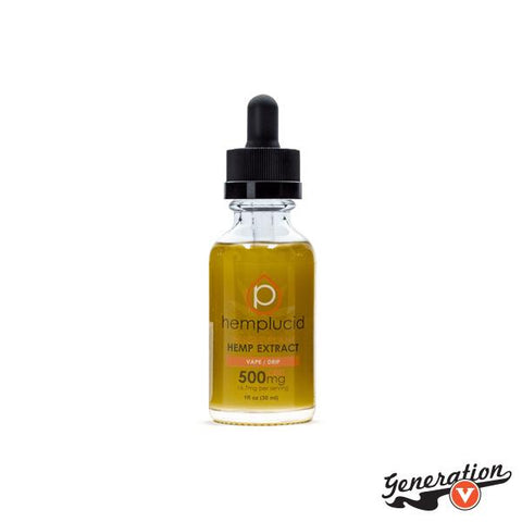 Hemplucid's Tincture / Vape provides whole-plant, hemp-derived CBD in our proprietary formulation. This is one of the quickest ways to feel the effects of whole-plant CBD.
