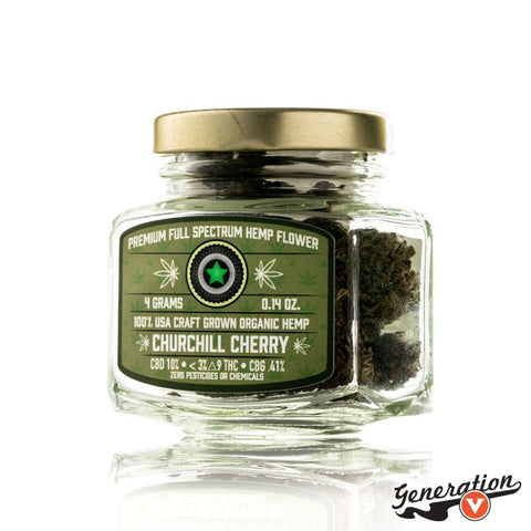 Churchill Cherry is a great variety. The smell is sweet, fruity, and earthy.
