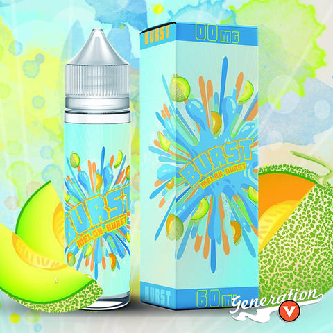 Burst Melon delivers a combination of honeydew melon and cantaloupe. The height of summer is upon us and only a true summer flavor will do!