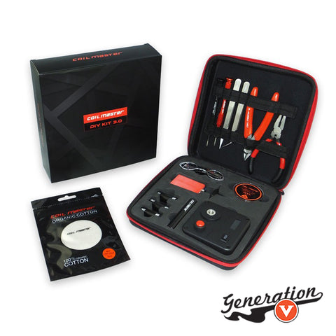 The Coil Master Tool Kit V3 includes the new 521 Mini Tab which features dry firing! Dry firing allows you to check for hot spots and potential shorts on the meter rather than having to test on your device.