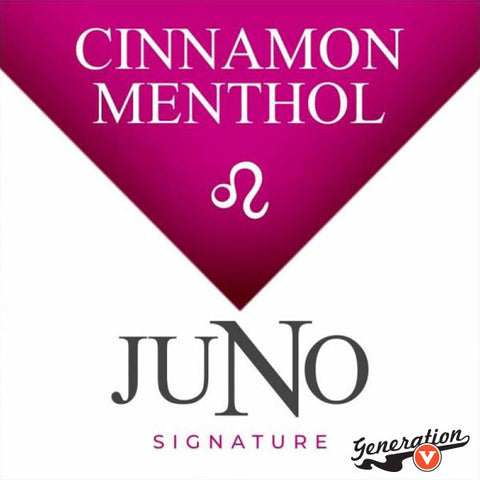 Twelve's Leo Fire & Ice Cinnamon Menthol replacement pods are part of the Juno Signature Collection. Easy to use. Thanks to the 36mg or 48mg nicotine content it gives you the hit you're looking for. Each pack comes with 4 replacement pods.