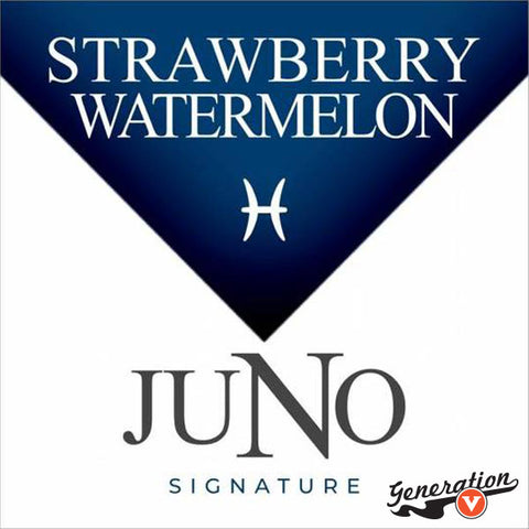 Twelve's Pisces Strawberry Watermelon replacement pods are part of the Juno Signature Collection. Easy to use. Thanks to the 36mg or 48mg nicotine content it gives you the hit you're looking for. Each pack comes with 4 replacement pods.
