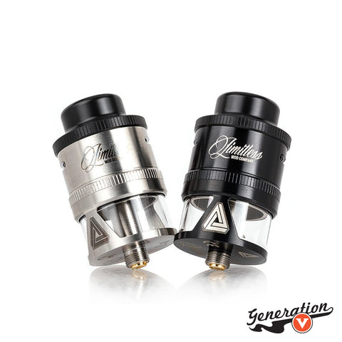 The Limitless Mod Co. 26mm RDTA Prime is an innovative rebuildable geared towards those that are looking for a tank combined with the ability to build according to their preferences, featuring an expansive build deck, size-able tank capacity, and an unique top refill system.