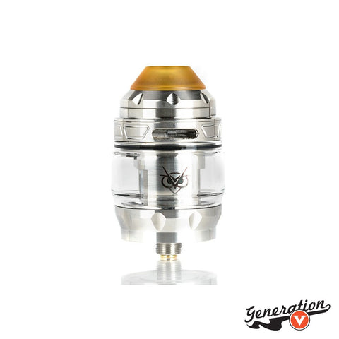 The Advken Owl Mesh Sub-Ohm Tank is an innovative tank, utilizing a superior stainless steel chassis construction, sliding top refill and airflow control system, and accepts coils from the Advken Mesh Coil Line.