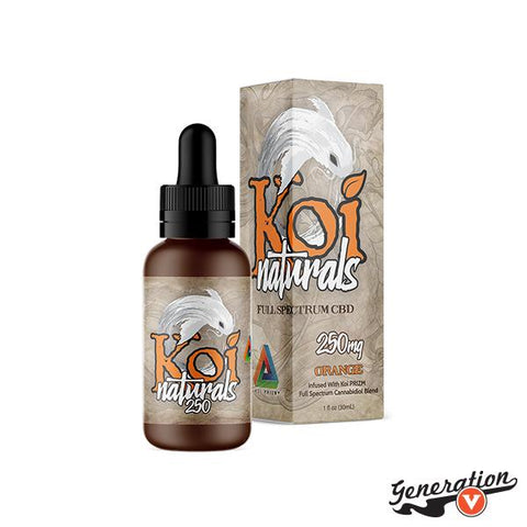Savor the smooth, sweet taste of fresh oranges. Blending 100% natural orange flavoring with Koi PRIZM™ full-spectrum CBD blend, Koi Naturals Orange provides the restorative benefits of the highest quality CBD available with a little taste of sunshine.