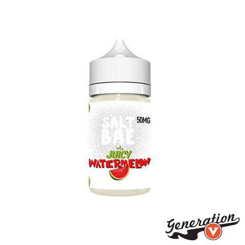 Juicy Watermelon by SaltBae50 is a juicy wedge of sweet watermelon vape on a smooth salt nic.