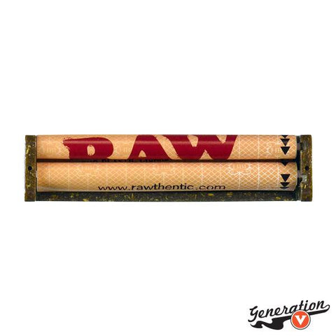 The RAW Hemp Plastic Roller 110mm is made from eco-friendly German Hemp Plastic.  Hemp Plastic is a revolutionary material created by Dr Pohl and popularized by RAW.  These rollers are produced on the island of Kudus, Indonesia. There is nobody better to make a long lasting hand rolling machine!