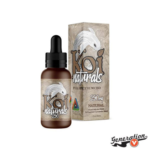 Simple. Natural. Powerful. Enjoy the purest taste of Koi PRIZM™ full-spectrum CBD blend. Packed with the highest quality CBD available, Koi Naturals, Natural flavor delivers the pleasant, earthy taste of CBD in its rawest form.