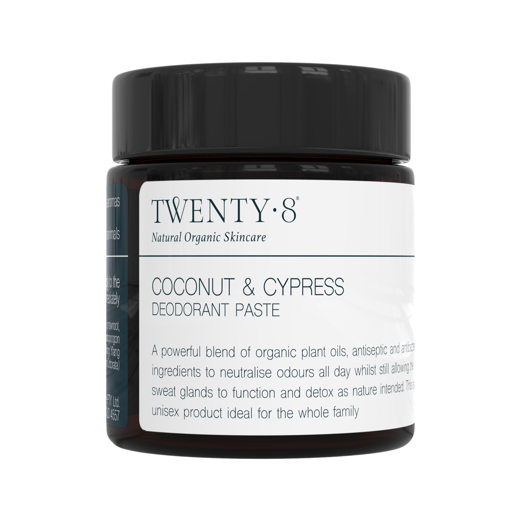 Twenty8 Coconut and Cypress Deodorant Paste 40g
