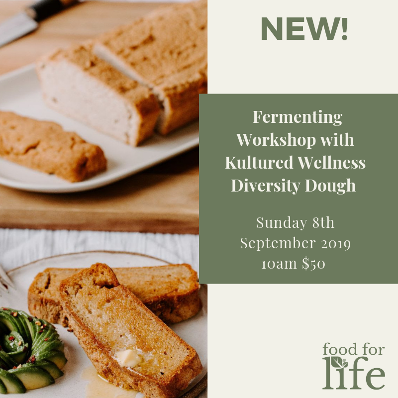 The Art of Fermented Dough - TOOWOOMBA Sunday 8th September 2019 10am - 12pm. Koojarewon Youth Camp, 26 Borghardt Rd, 4352 Highfields
