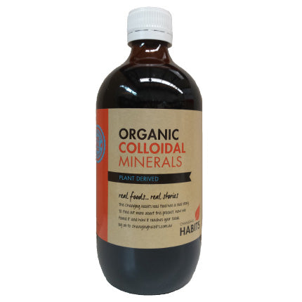 Organic Changing Habits Colloidal Minerals 500ml