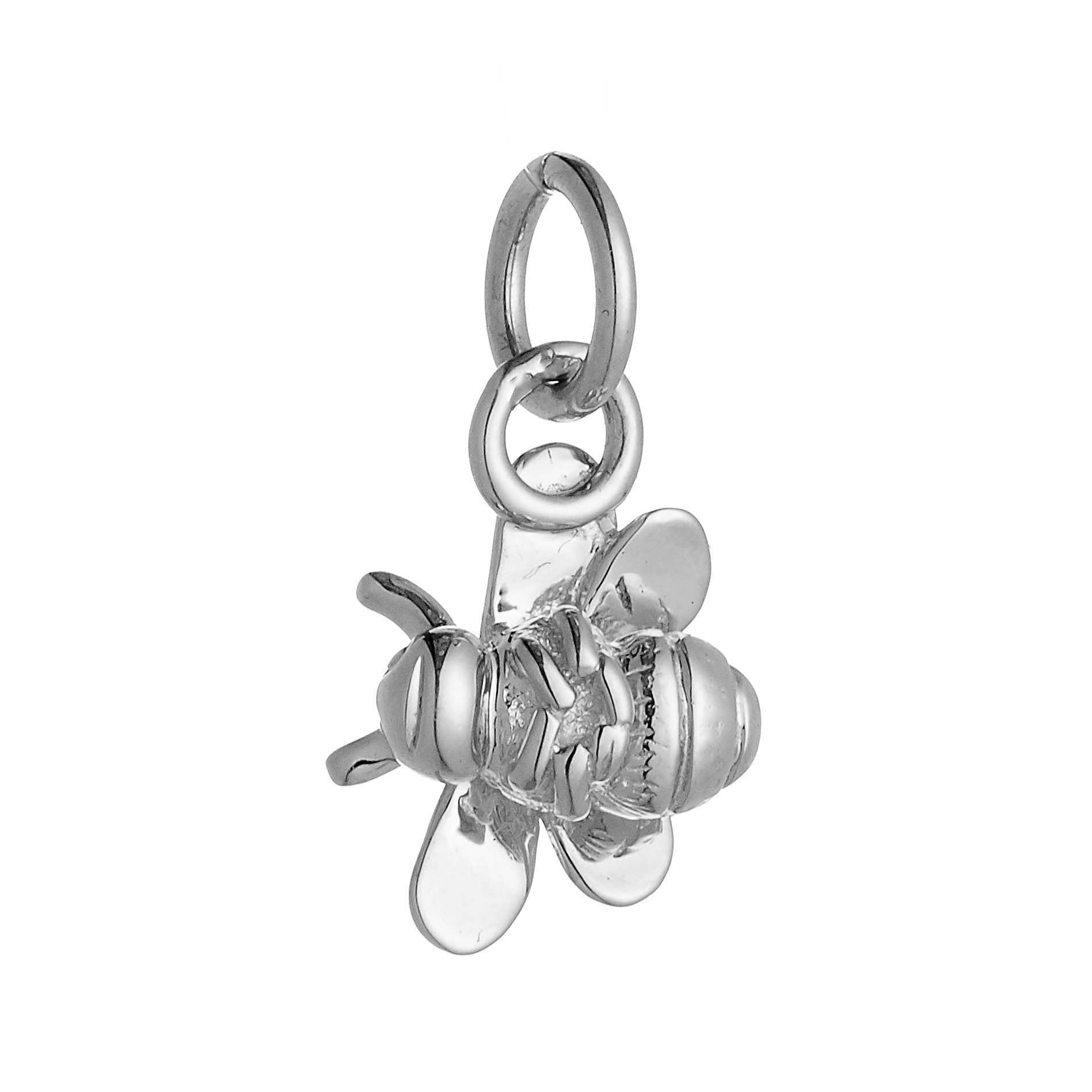 Bumble Bee Silver Charm