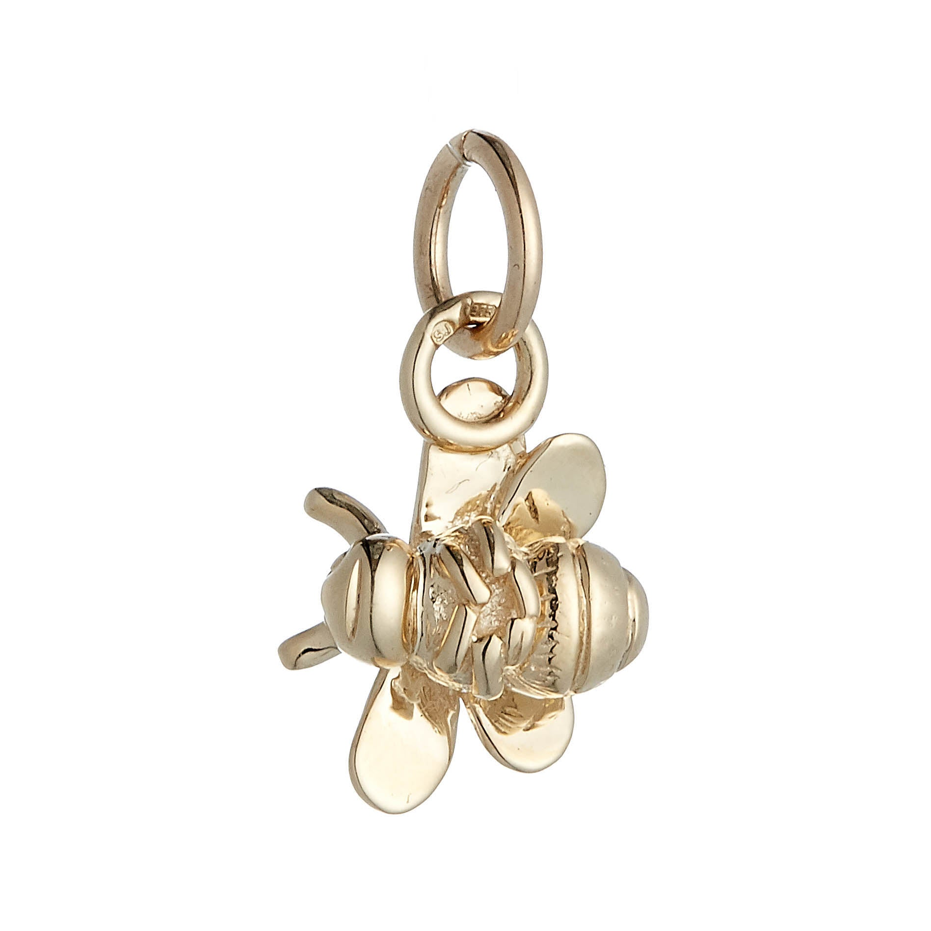 Bumble Bee Gold Charm