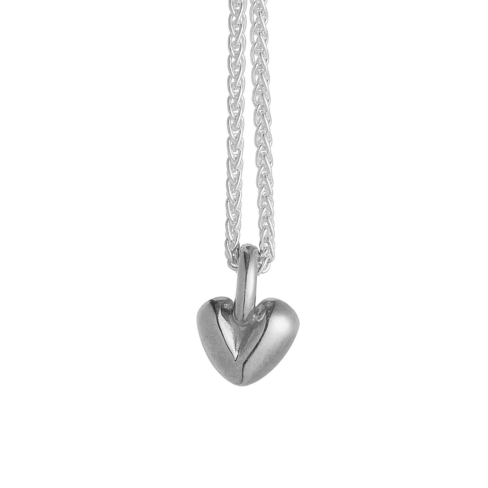 Sweetheart Silver Necklace