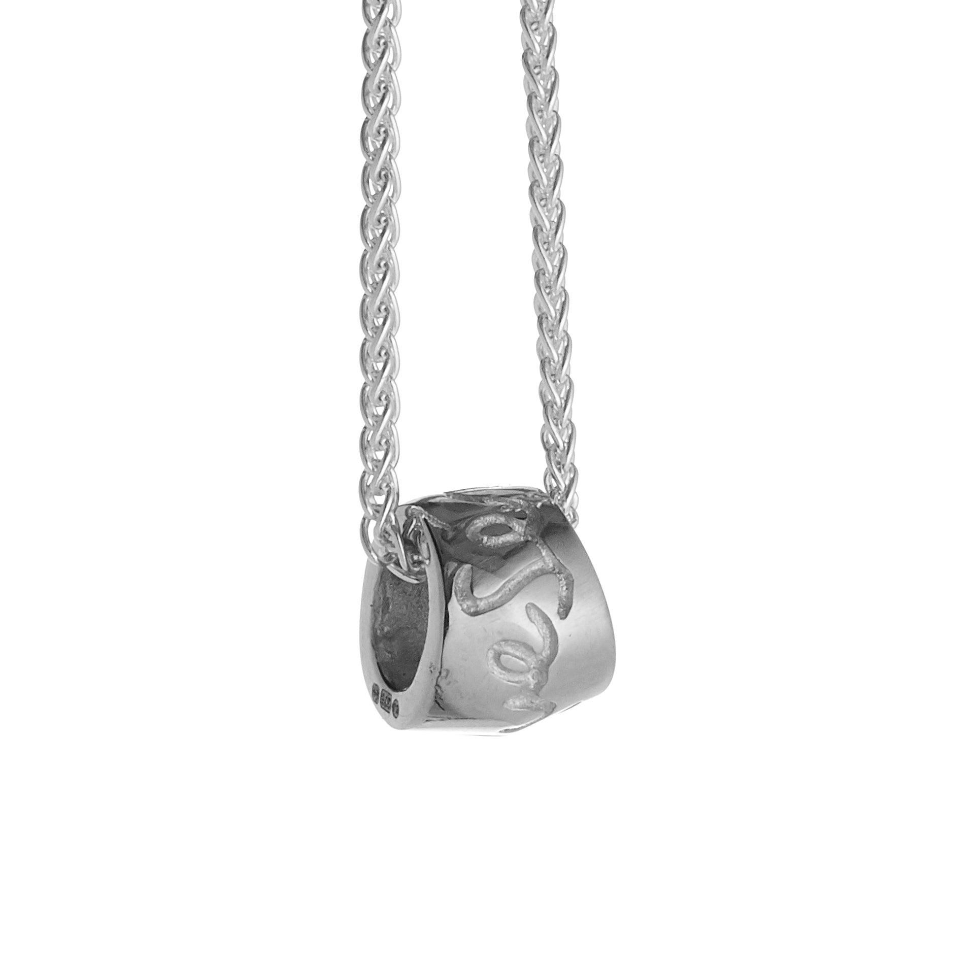 Que Sera Silver Necklace