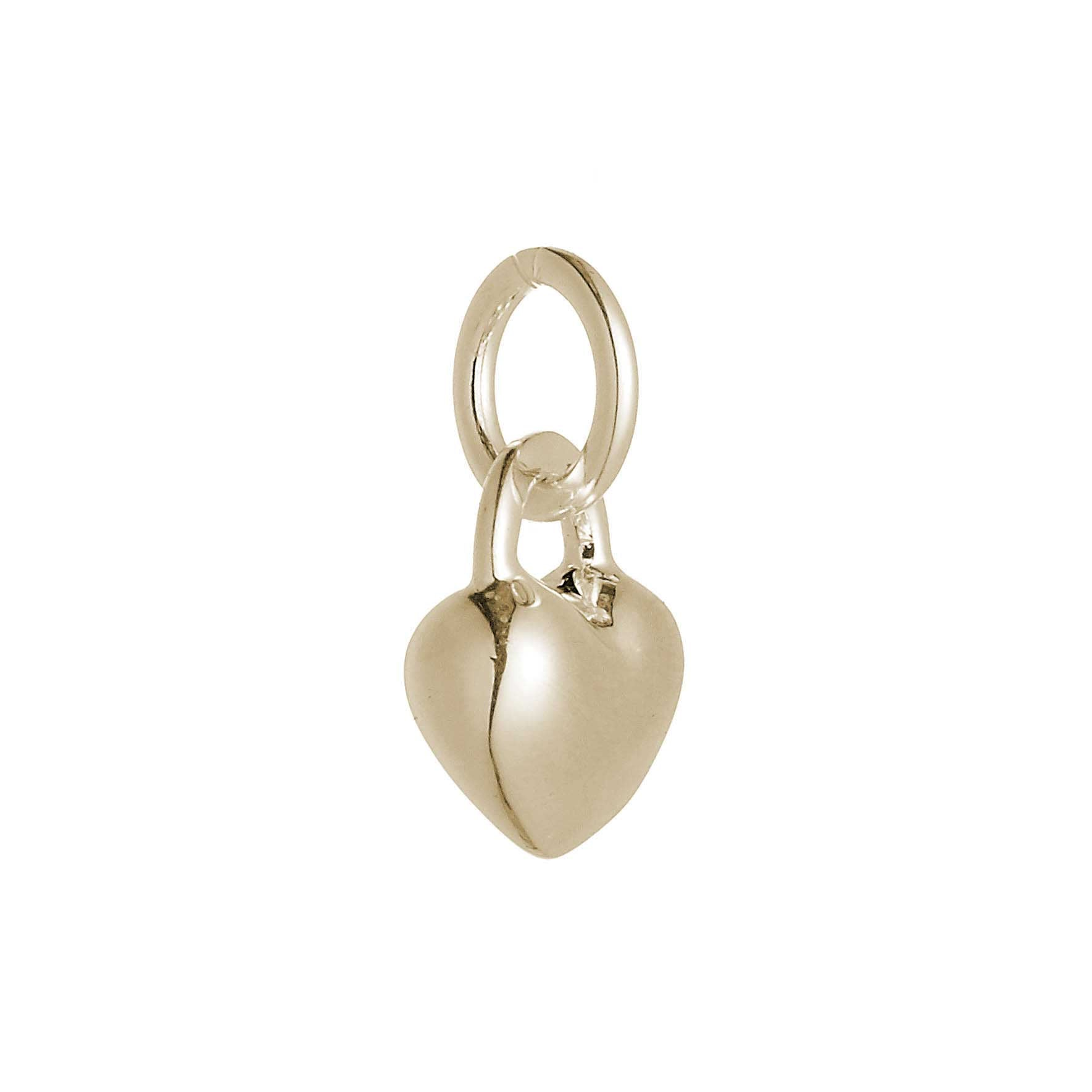 Love Heart Gold Charm