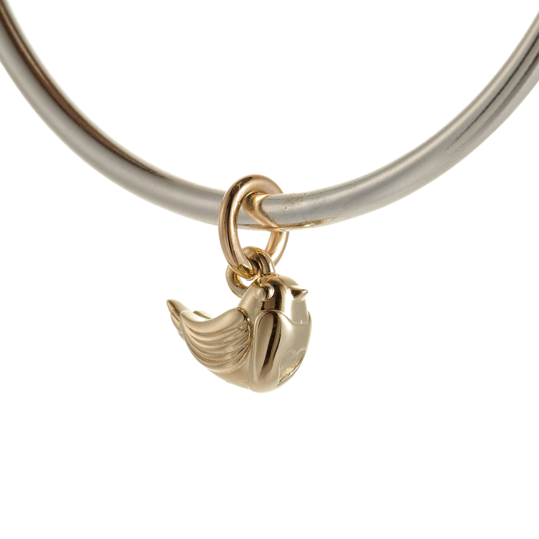 Robin Gold & Silver Bangle