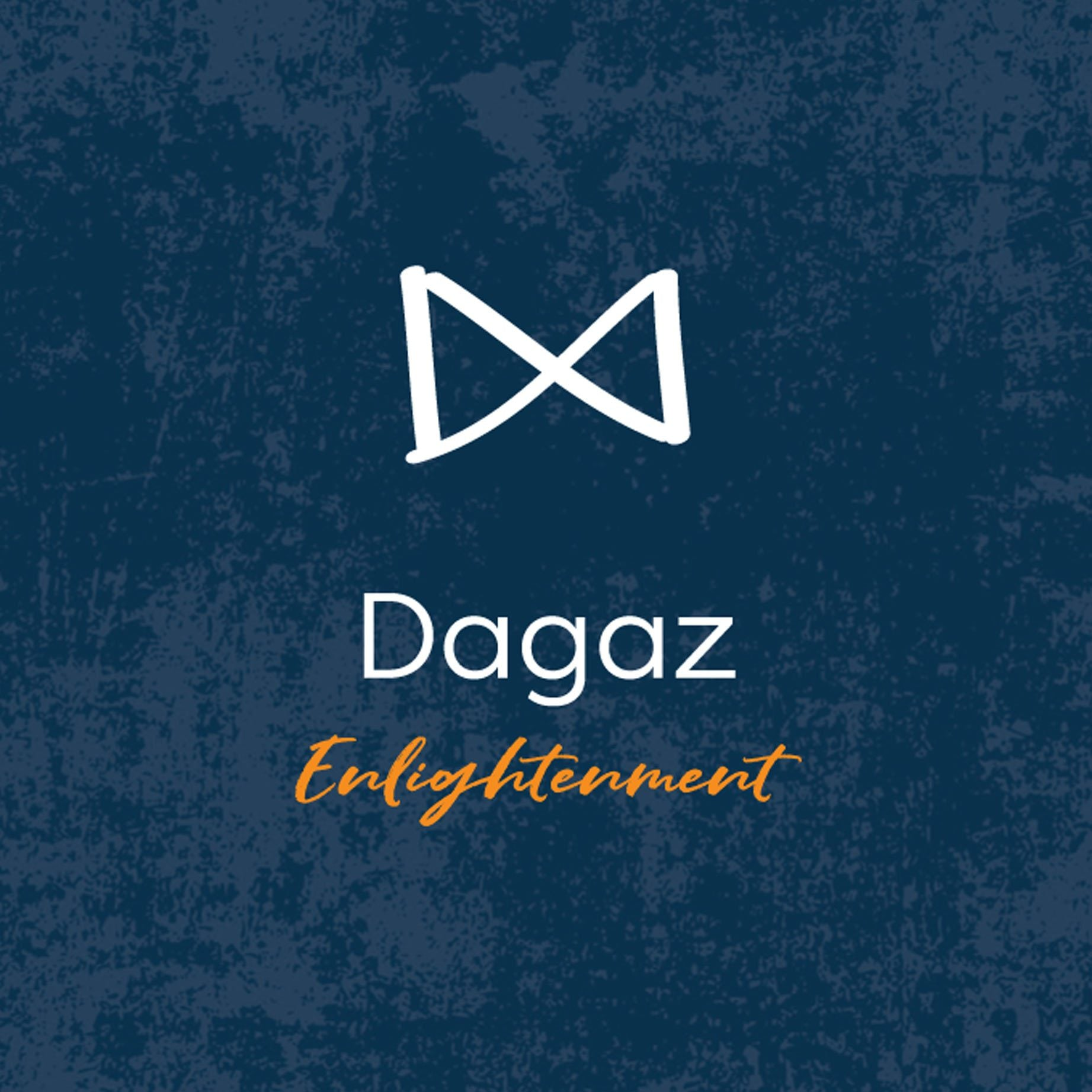 Dagaz Rune Enlightenment from Off The Map Brighton