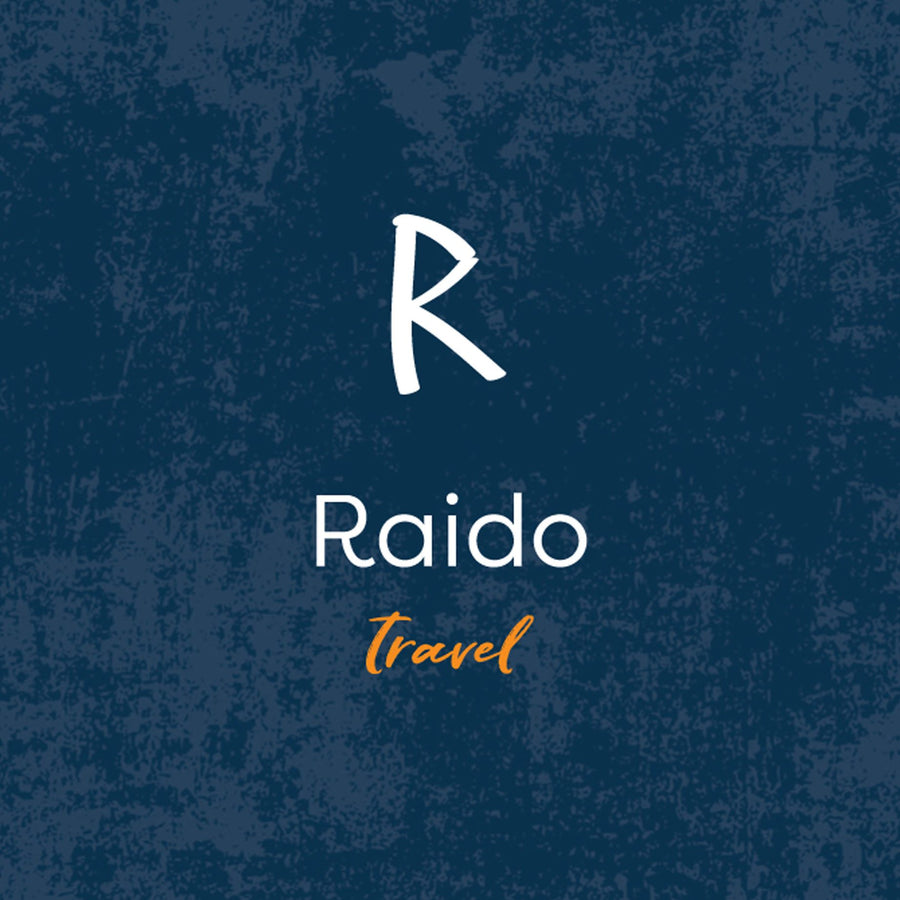 Raido Rune Travel from Off The Map Brighton