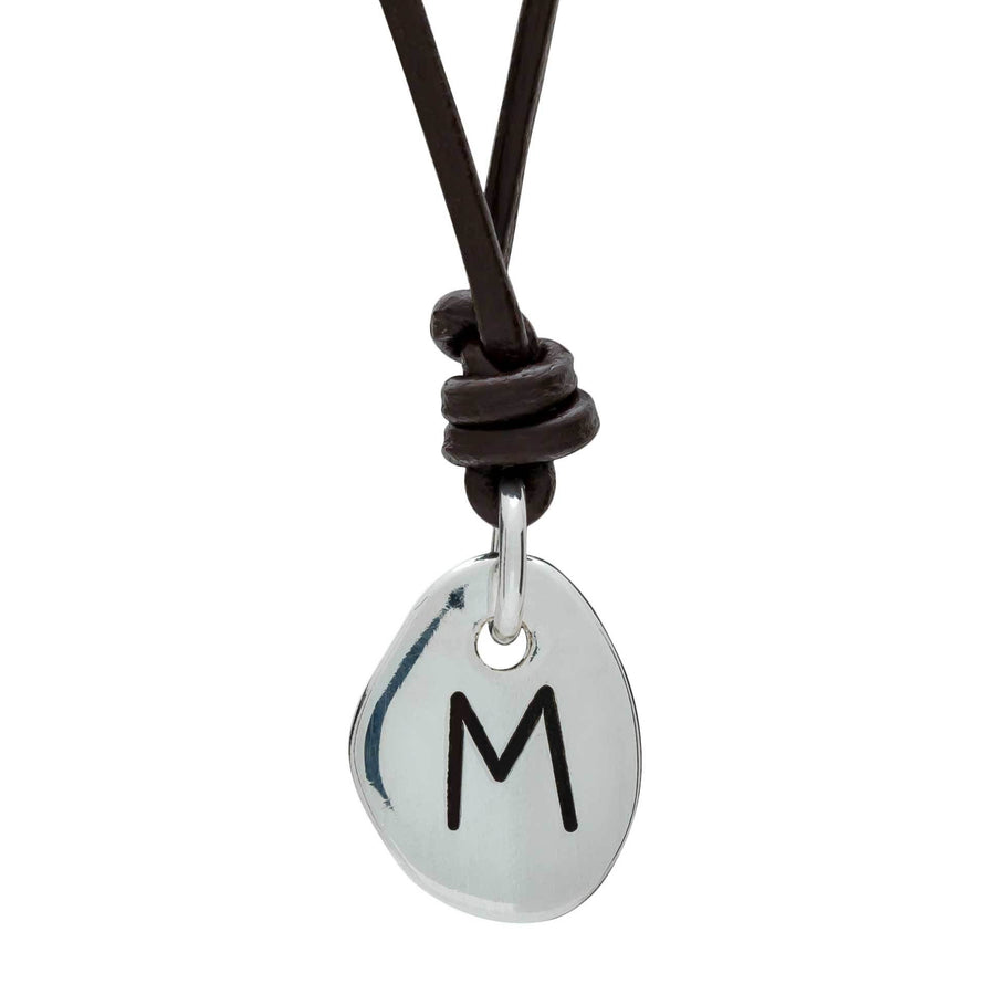 Travel Rune Ehwaz travel for pleasure - Silver & Leather pendant for men & women - ideal travel gift