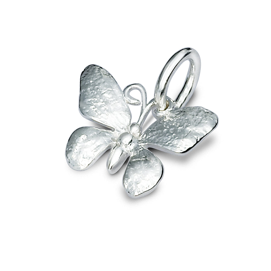 Butterfly Silver Charm For Bracelets and Necklaces from Scarlett Jewellery UK