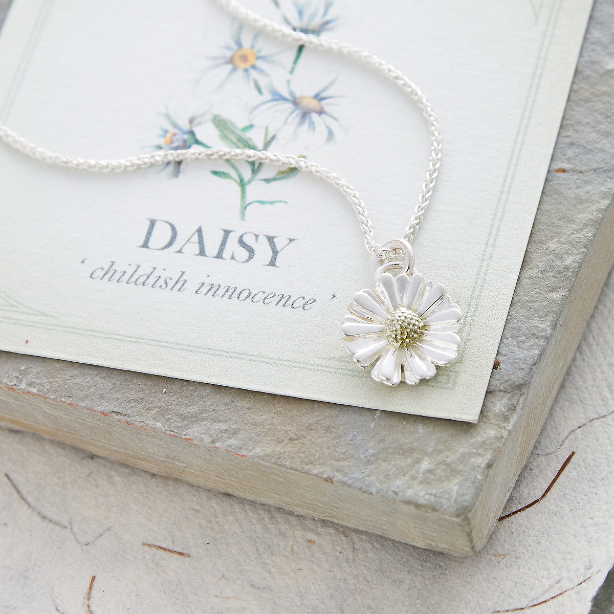 Daisy Flower Silver & Gold Charm For Bracelets & Necklaces by Scarlett Jewellery
