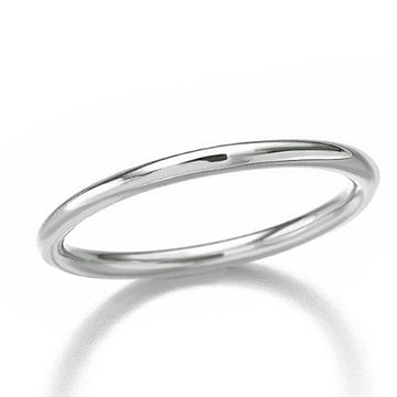 simple silver stacking ring solid sterling silver scarlett jewellery
