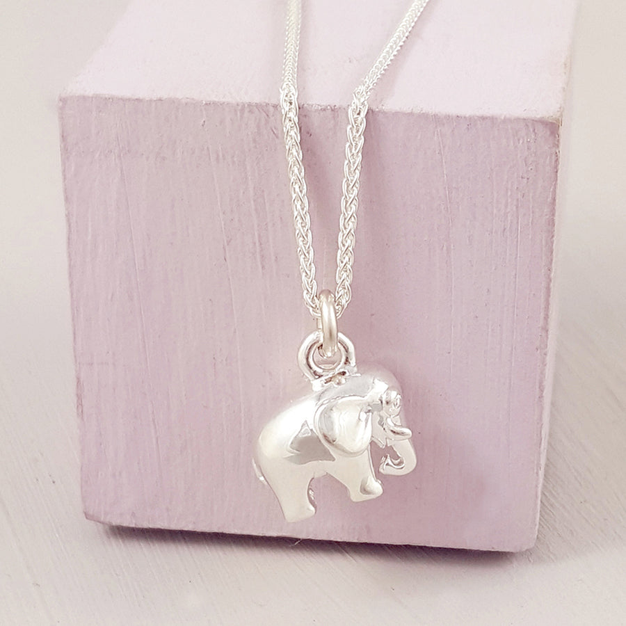 Elephant Sterling Silver Charm by Scarlett Jewellery
