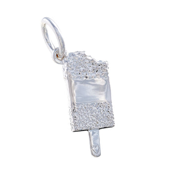 Fab styled ice lolly sterling silver bracelet charm by Scarlett Jewellery