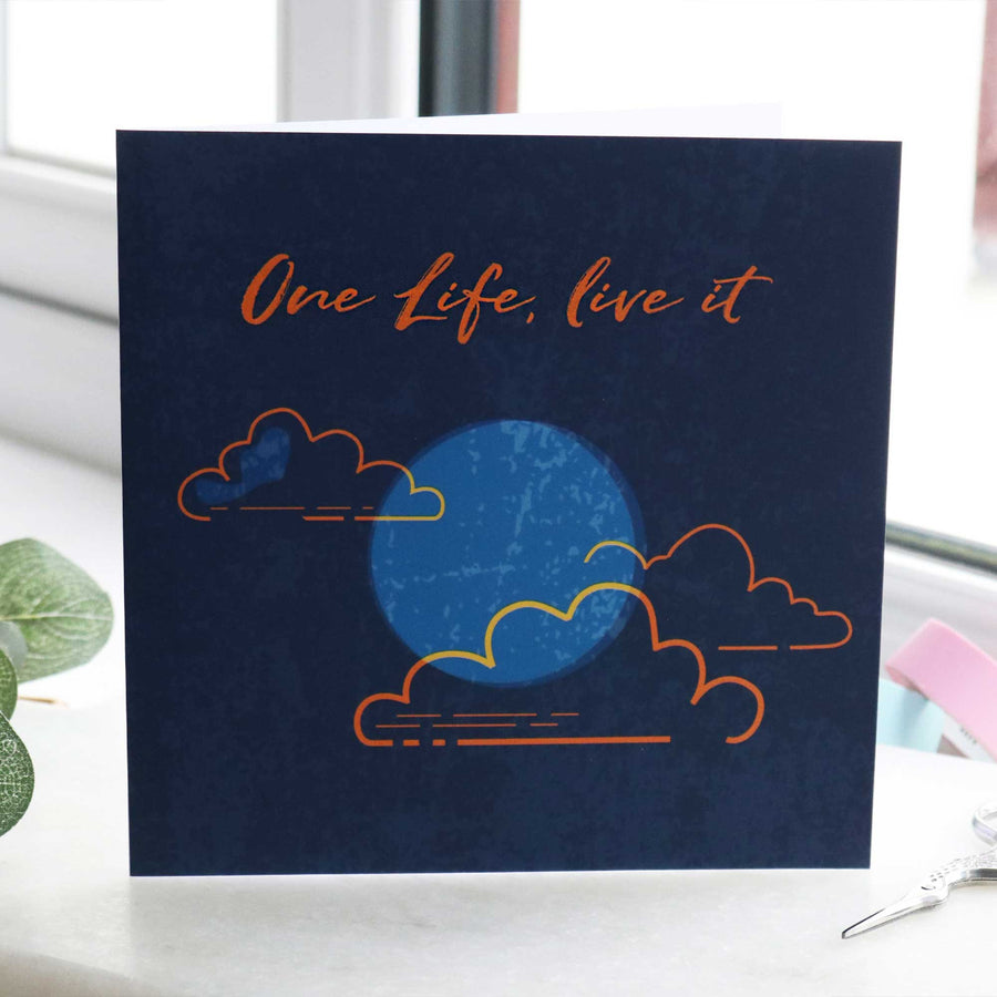 One life live it going away gift card