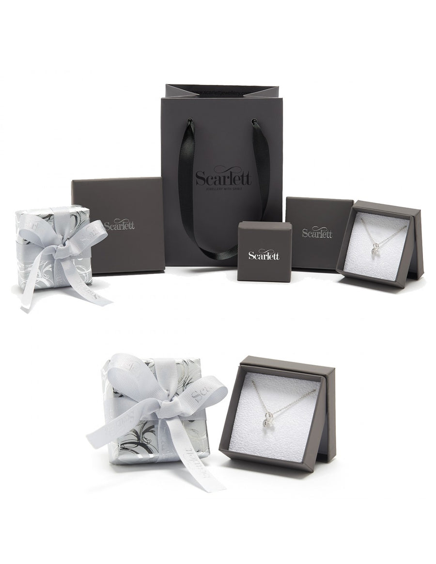 Present Personalised Silver Charm