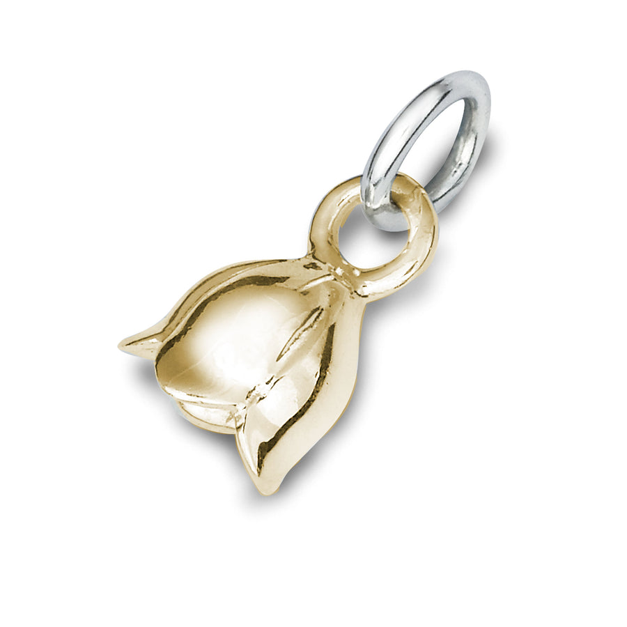solid gold lily of the valley fete au muguet charm scarlett jewellery