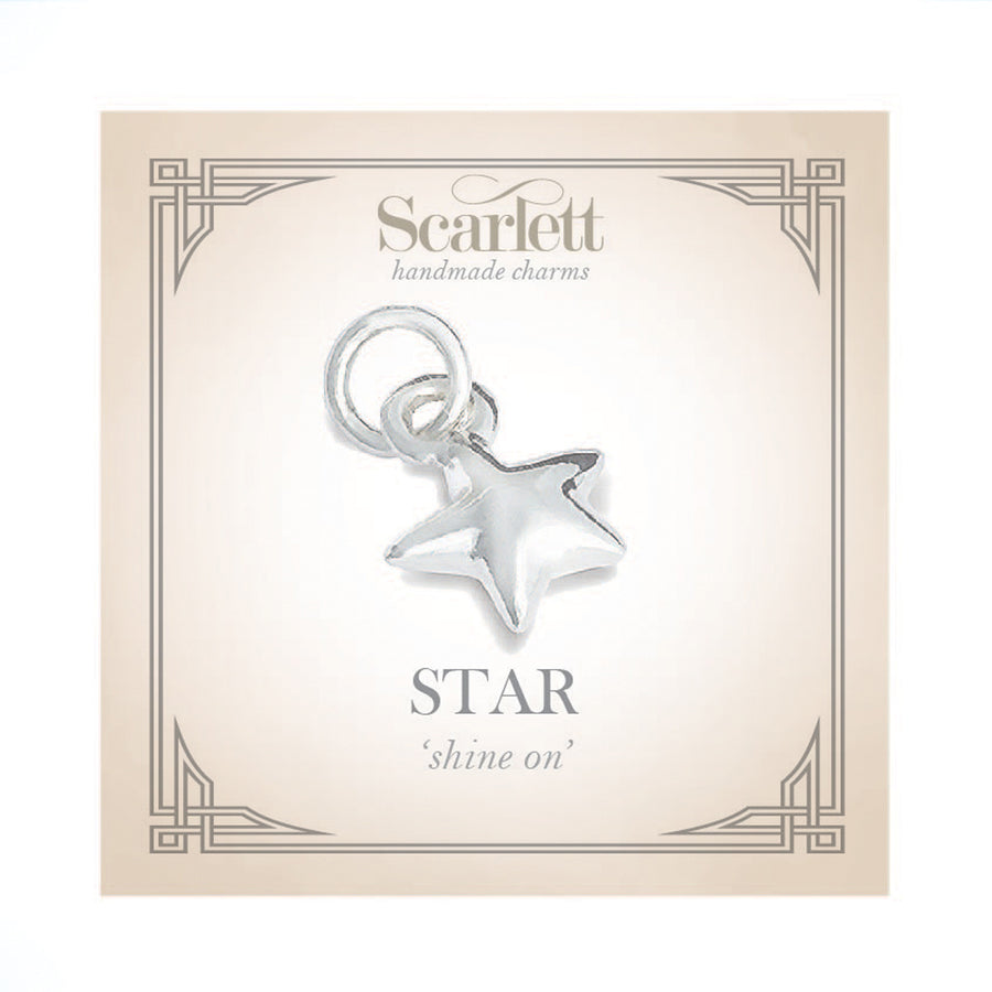 Star Silver Charm For Charm Bracelets Pandora & Traditional
