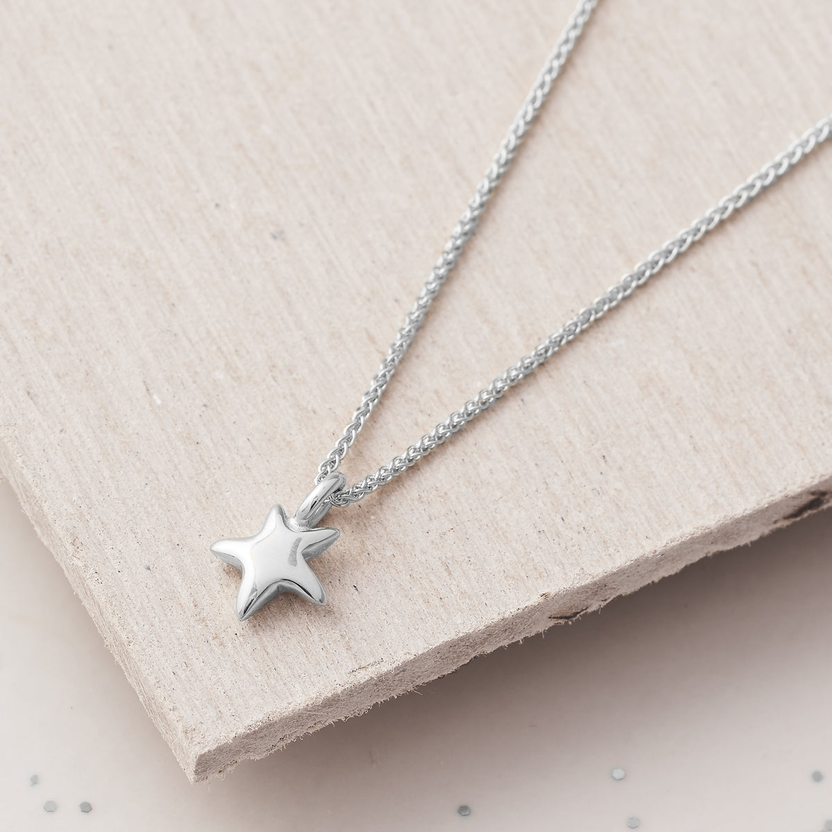 Delicate solid silver star pendant for teens young womens gift designer Scarlett Jewellery
