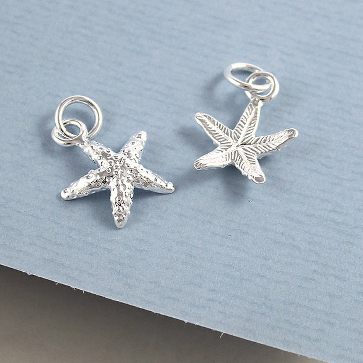 Starfish Silver Charm for Bracelet and necklace from Scarlett Jewellery