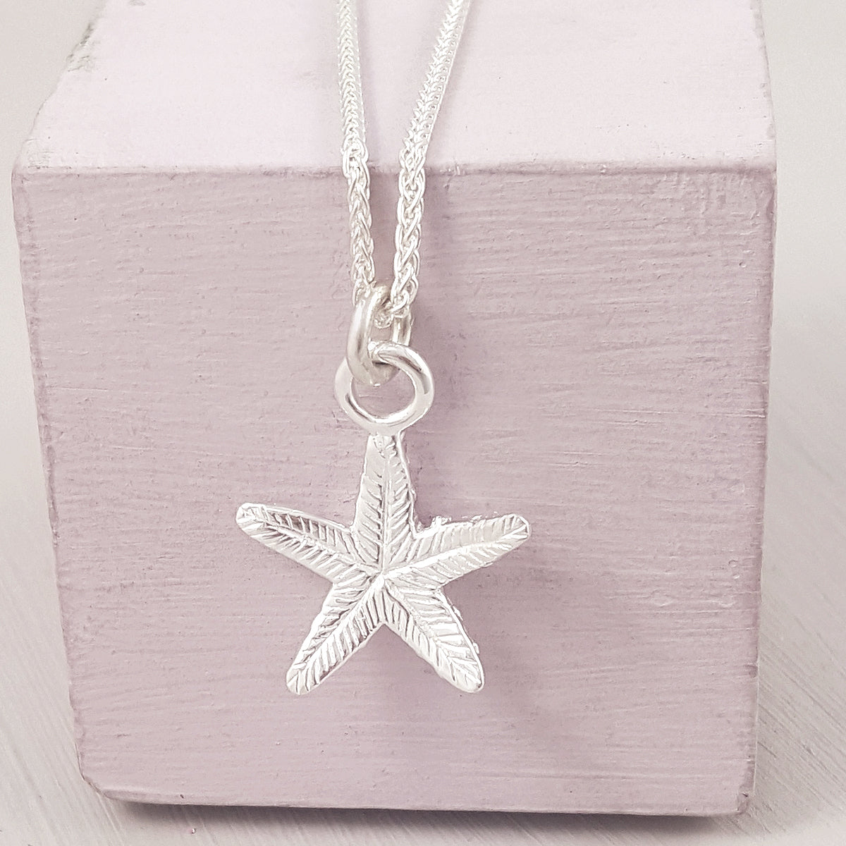 Starfish Silver Charm necklace from Scarlett Jewellery