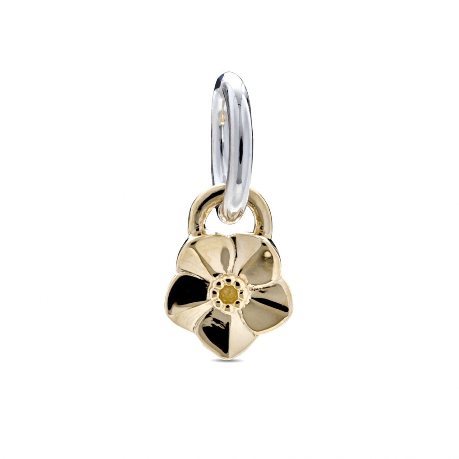 Tiny Forget-Me-Not Gold Charm Memorial Gift Scarlett Jewellery