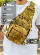 Load image into Gallery viewer, RKJ Tactical Sling Bag
