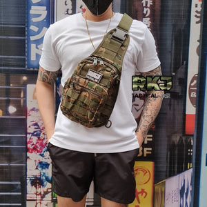 RKJ Sling/Body Bag Limited Edition + RKJ Velcro Patch